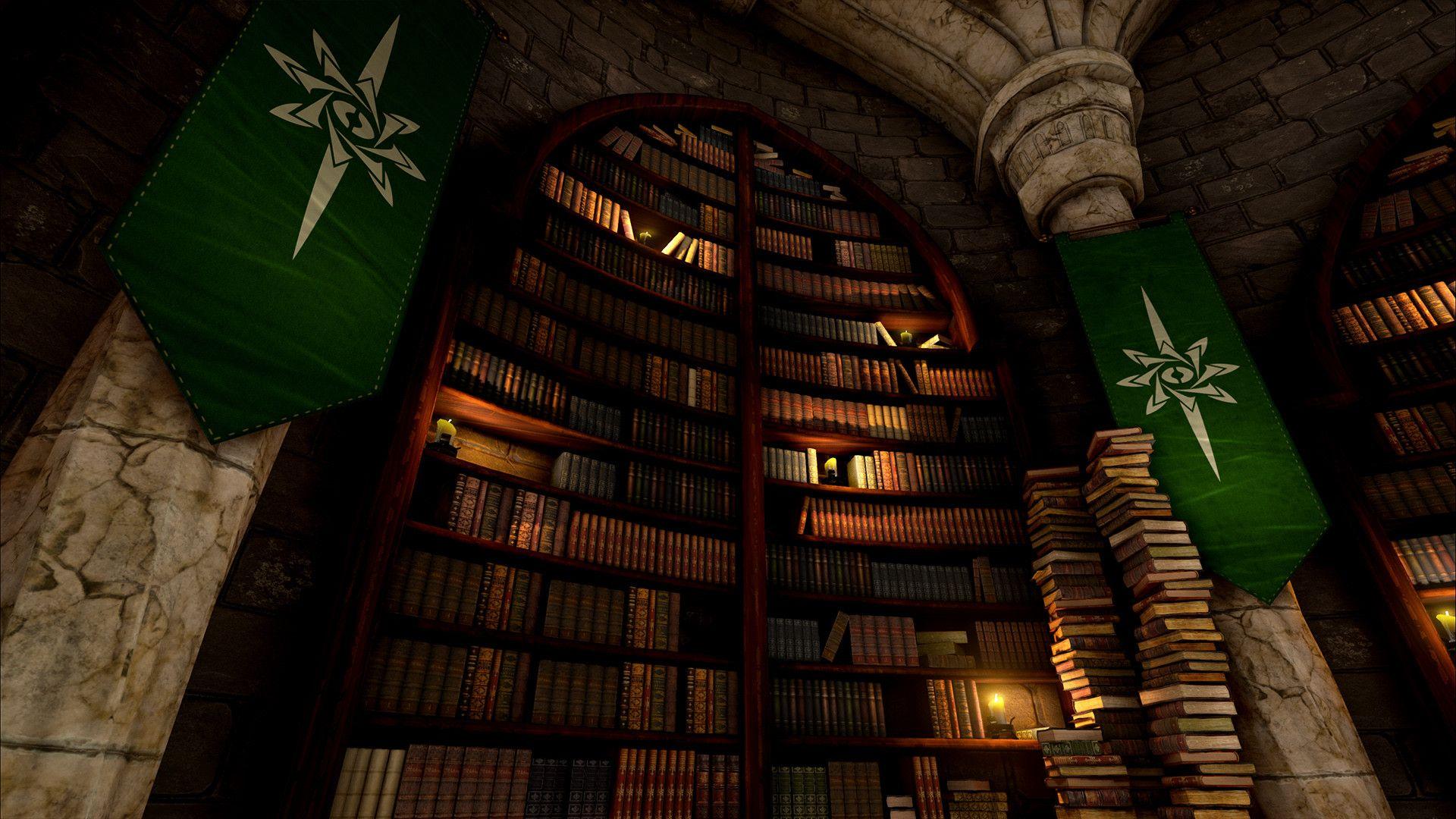 ArtStation - Fantasy Library, Mason Roy   TRI ~ Schadaan ...