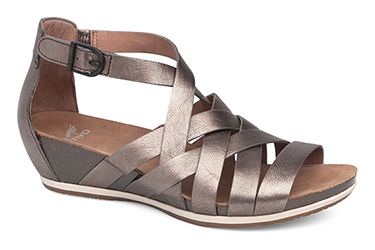 f2b9d5e18efe The women s Dansko® Vivian sandal is the perfect option for warm weather  style and comfort.