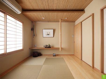 竹をふんだんに使ったモダンな和室にリフレッシュ ミサワホームイング