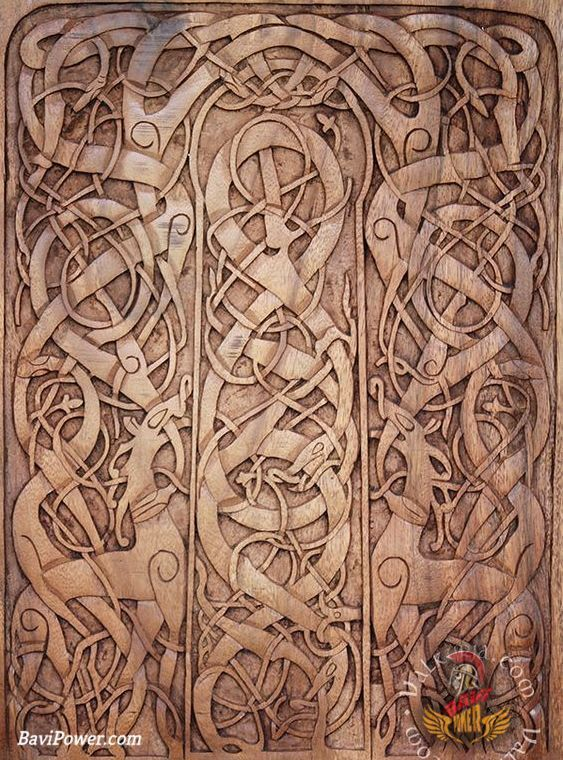 Viking Art Six Awesome Viking Ancient Art Styles Viking Art Viking Pattern Wood Carving Art