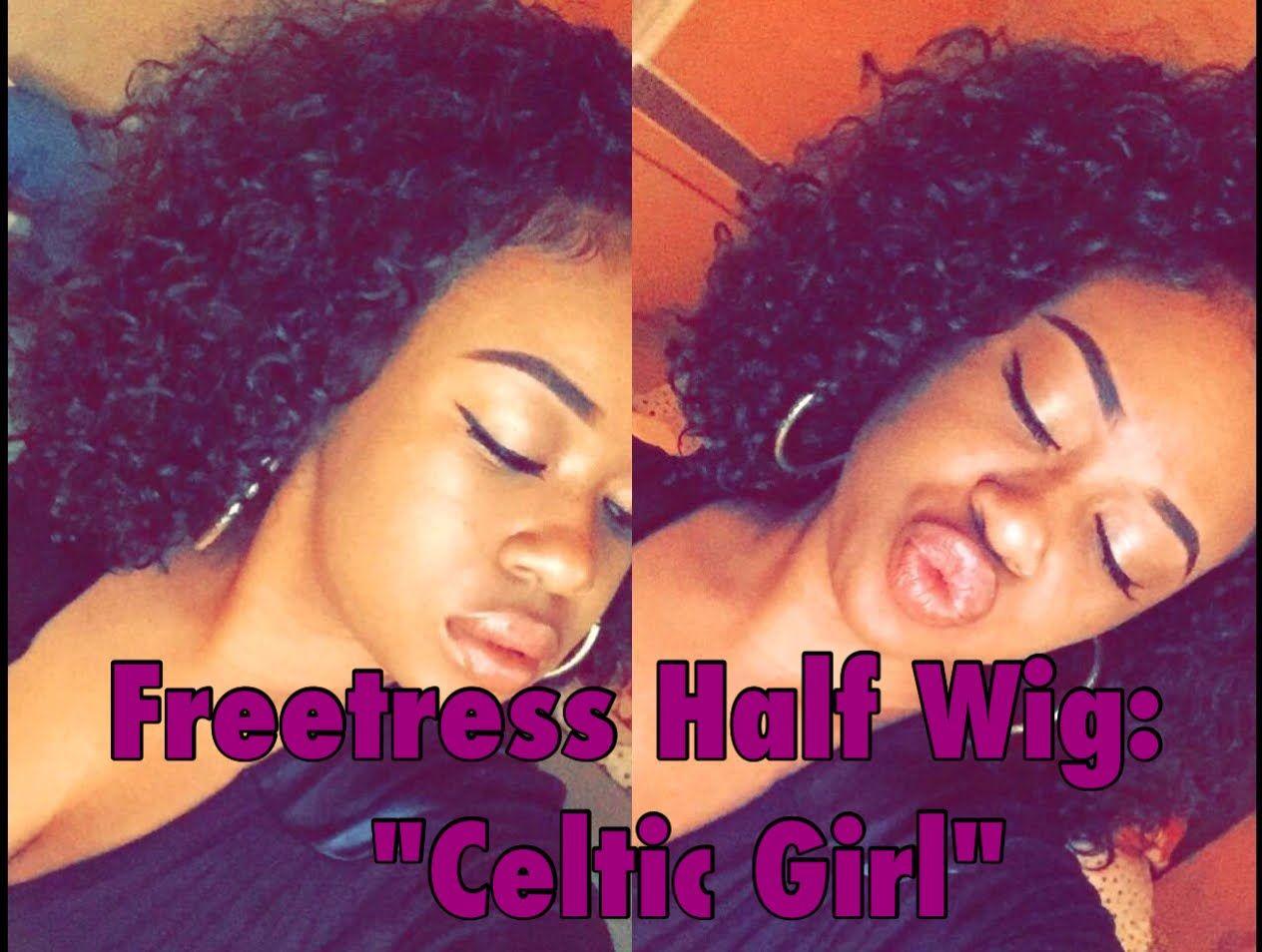 [BALL ON A BUDGET/ Wig under $50] Freetress Celtic Girl Half Wig + Let's...