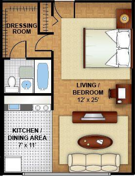 Northwest dc apartments floor plans 4000 massachusetts - 400 sq ft studio apartment ideas ...