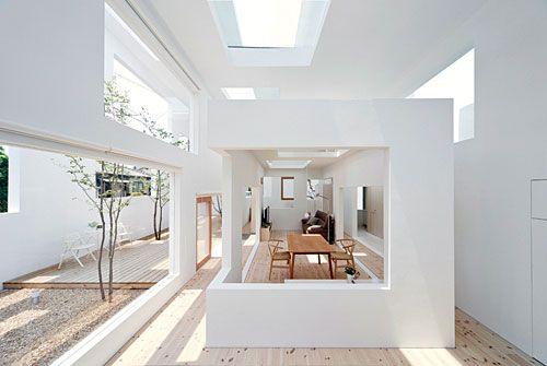 Sou fujimoto n house inside outside space space for N house sou fujimoto
