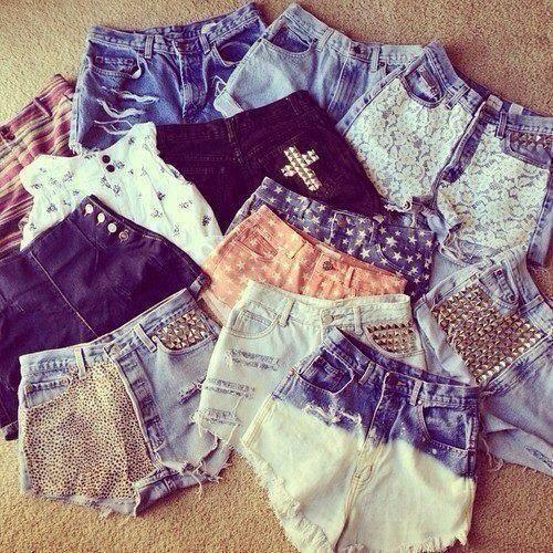 DIY shorts @Maggie Gehlsen