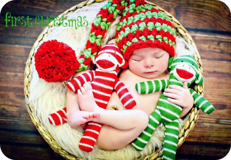 sock monkey christmas colors red green | Photography:Seasonal/Annual ...