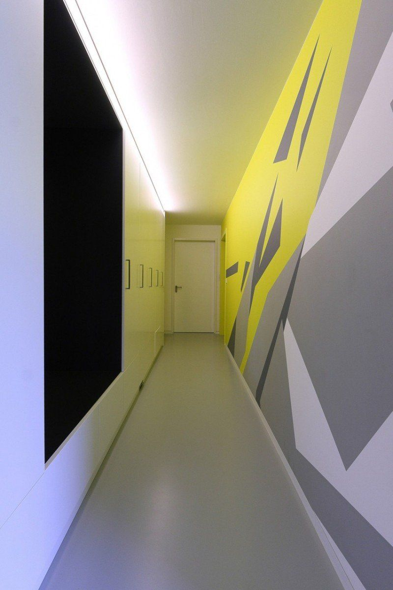 Peinture couloir et décoration de l\'entrée- 57 idées en couleurs
