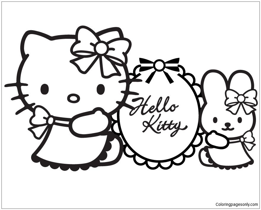 Hello Kitty 1 Coloring Page Hello Kitty Colouring Pages Hello Kitty Coloring Hello Kitty