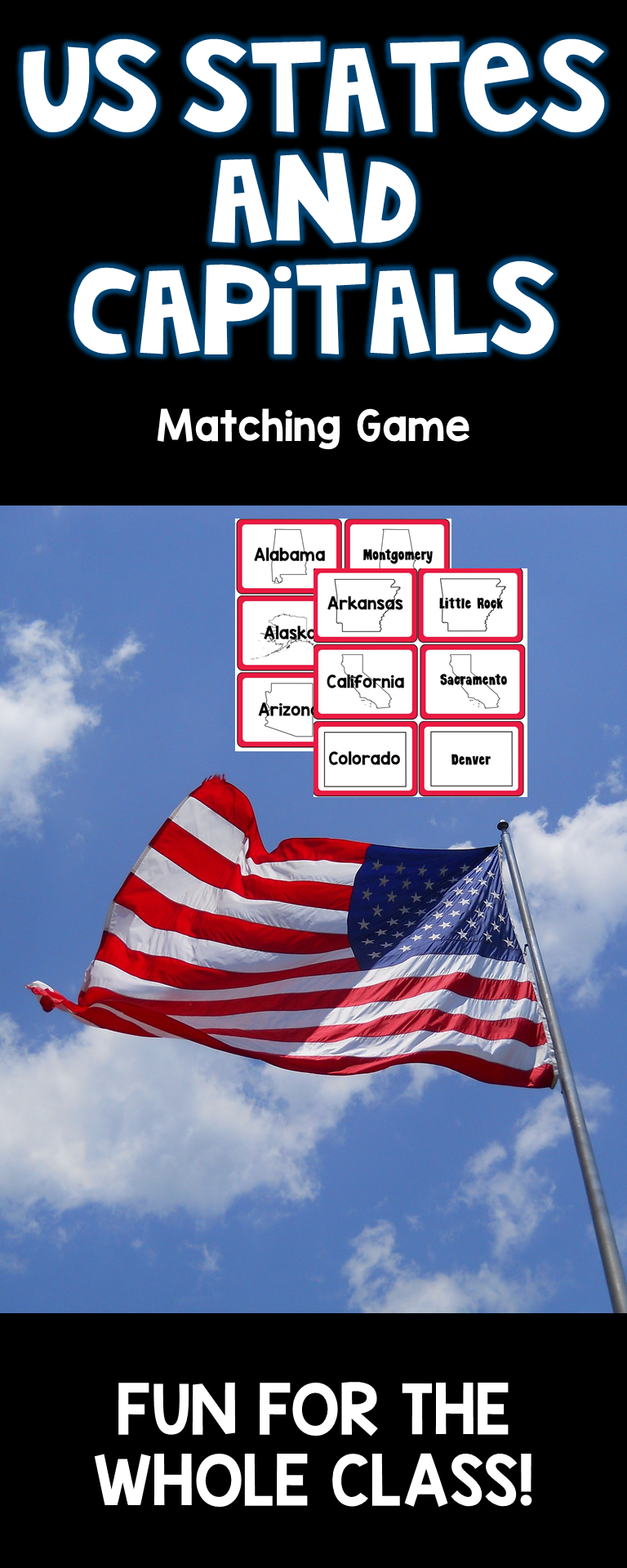 U.S. States & Capitals Matching Game | My TpT Store Products ... on 50 states learn, 50 states curriculum, 50 states program, 50 states power, 50 states resources, 50 states work, 50 states games, 50 states review, 50 states links, 50 states study, 50 states challenge, 50 states method, 50 states information, 50 states pretest, 50 states books, 50 states nature, 50 states homework, 50 states travel, 50 states lesson plan, 50 states vocabulary,
