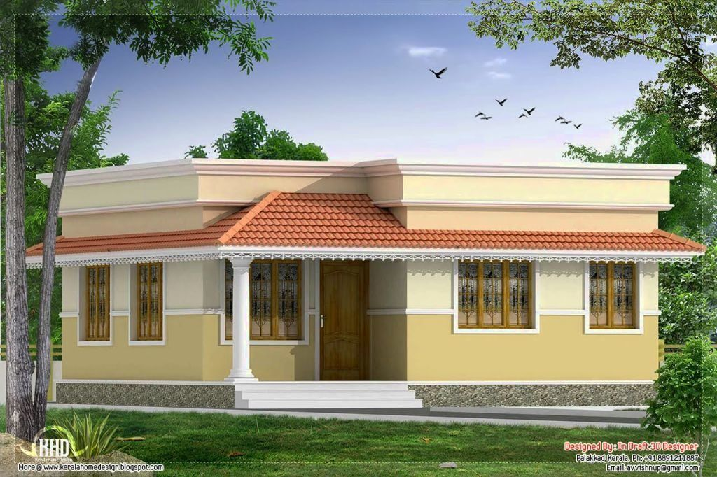 Small house designs in kerala style small house designs for Small house design kerala style