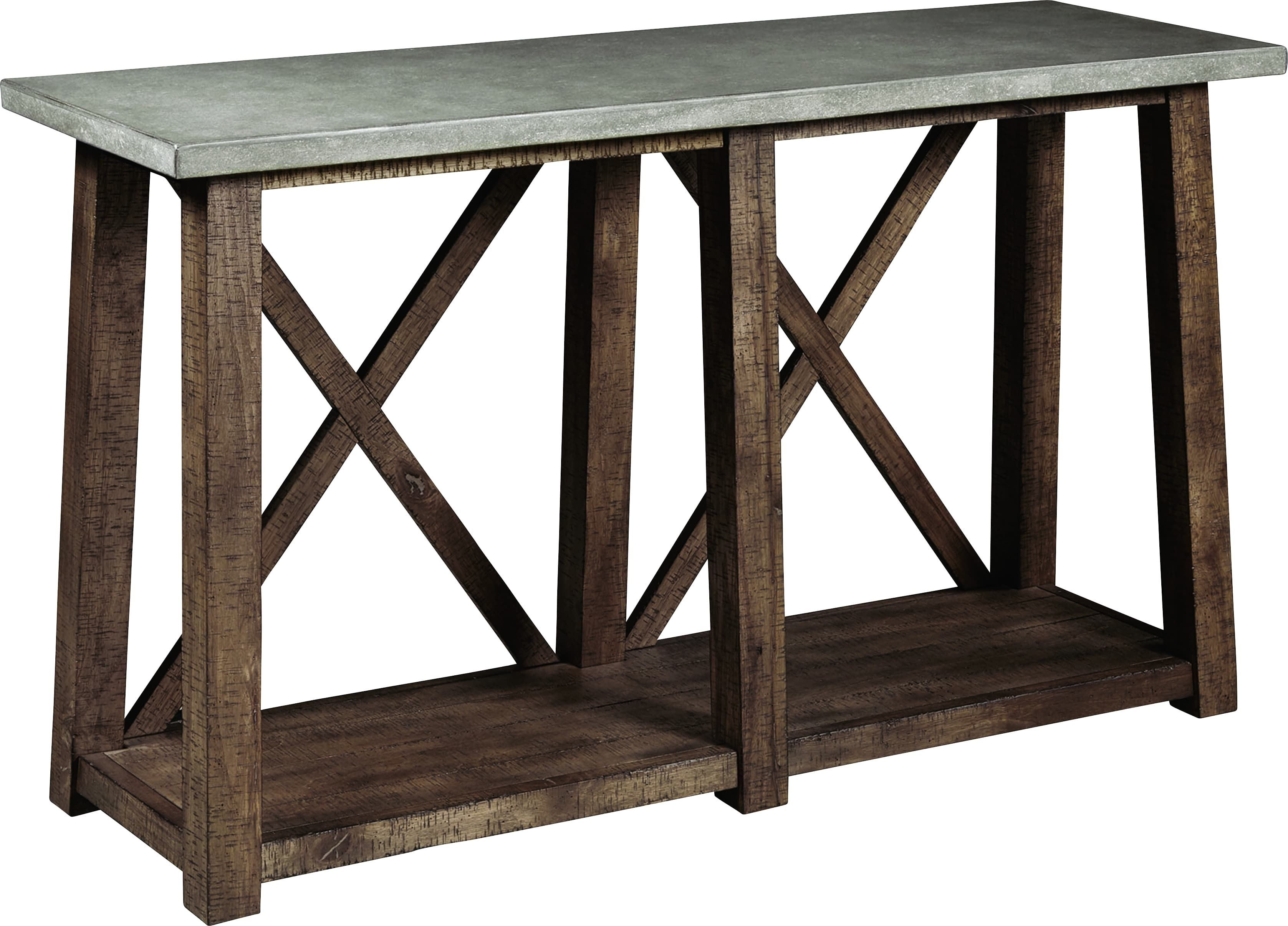 Wimberley Gray Console Table With Images Distressed Sofa Table