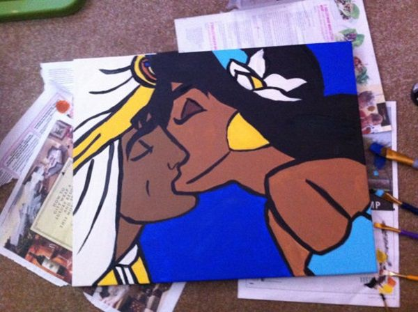 40 Pictures of Cool Disney Painting Ideas