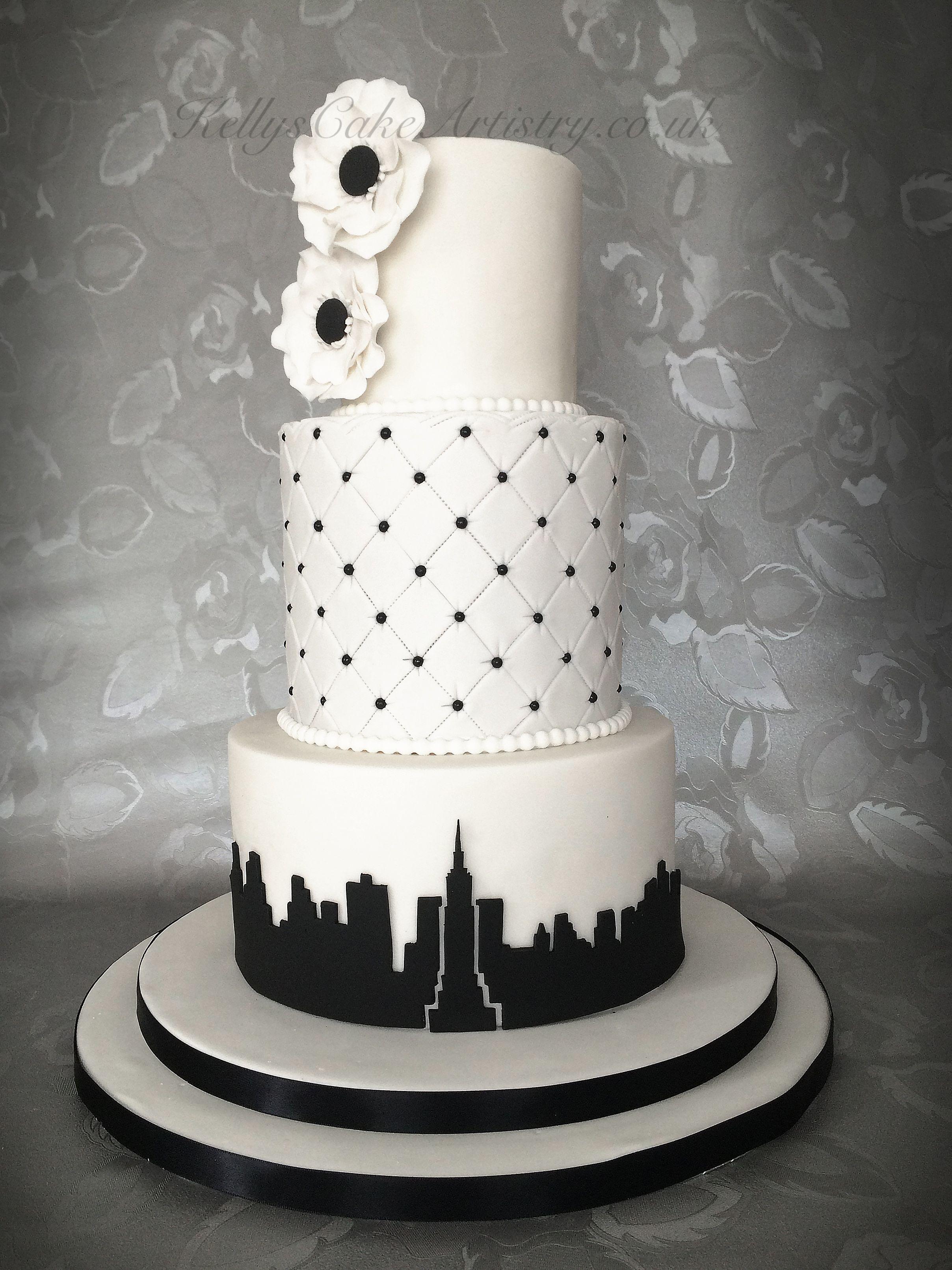 New York theme wedding cake   Sajam 2018   Pinterest