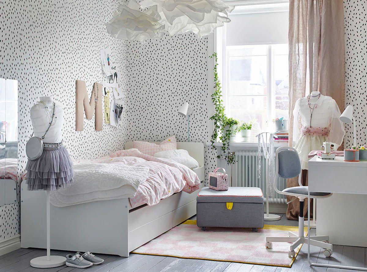 Camerette Ikea 2020 15 Idee Belle E Funzionali Per La Camera Dei Bambini Camerette Chic Design Della Camera Da Letto Decorazione Di Stanze