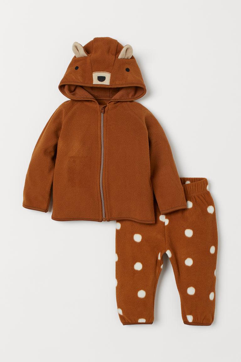 Jacke Und Hose Aus Fleece Fleece Jacket Newborn Clothes Online Bottoms Shop