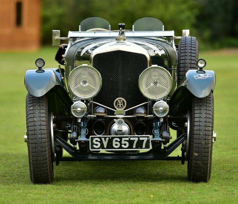 Classic Luxury Car 1928 Bentley Speed Six Vanden Plas