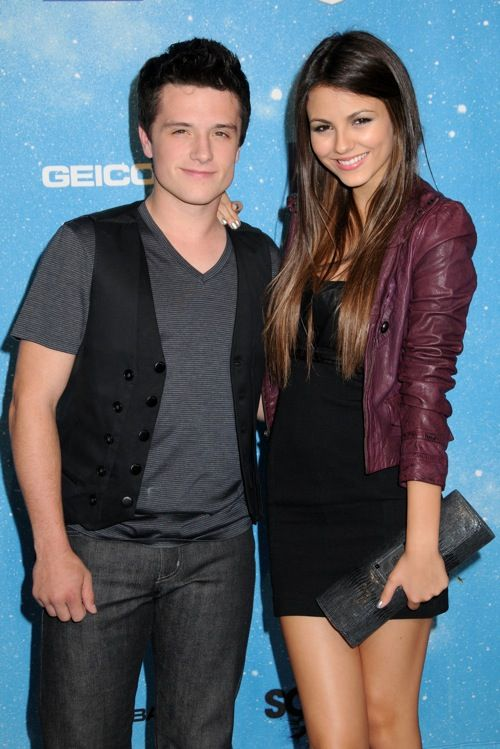 Josh Hutcherson and Victoria Justice