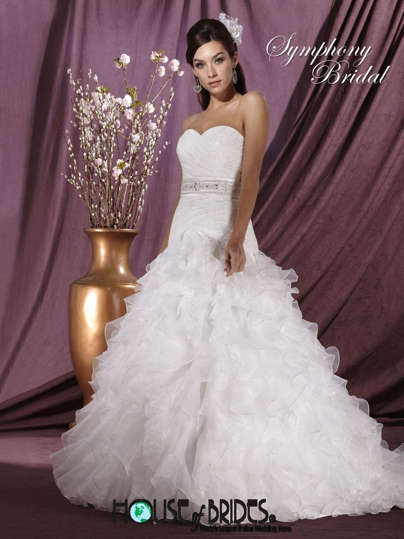 Symphony wedding dress style s house of brides the mr u mrs