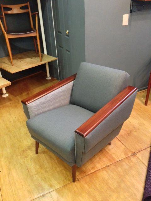 sillon gris danes 50s muebles vinatge sillones vintage