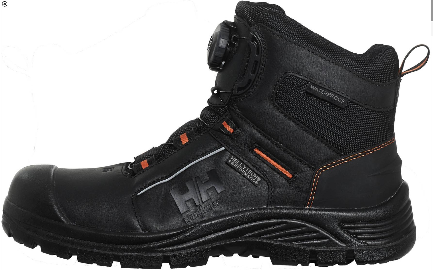 Helly Hansen 78259 Alna Boa Mid Ht Ww Boots, Combat