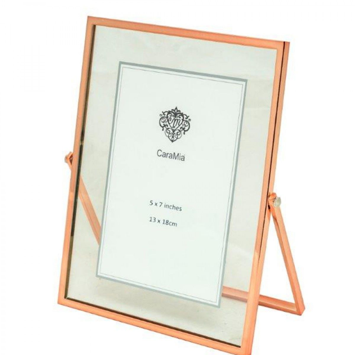 caramia rose gold photo frame m