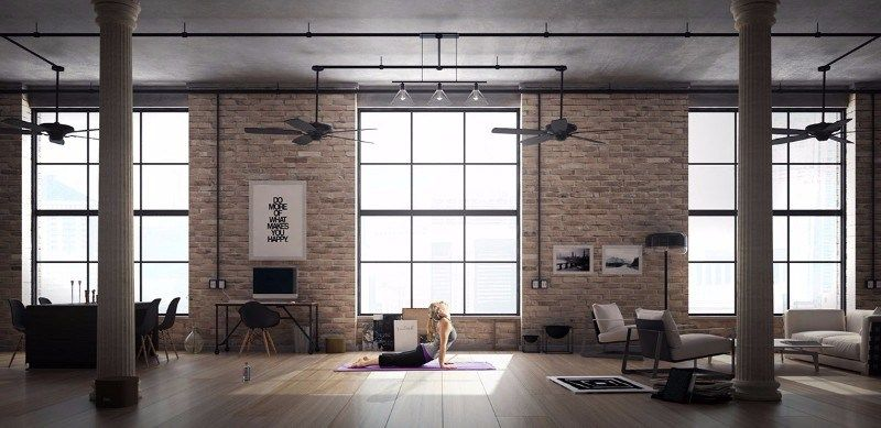 40 Loft Living Spaces That Will Blow Your Mind Home Magez Loft Living Space Loft Design Loft Living