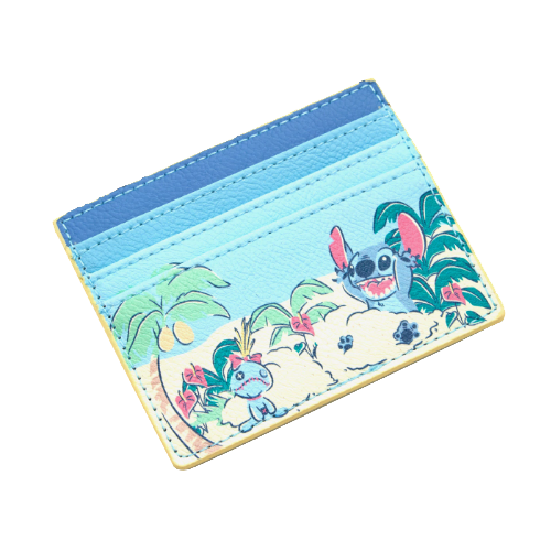 f775e17eebf LOUNGEFLY DISNEY LILO   STITCH BEACH CARDHOLDER. Find this Pin and more on  Wallets by Blue Culture Tees.