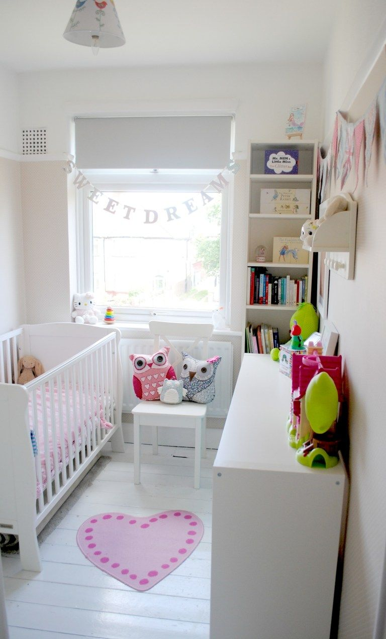 Sasha S Nursery Tour Small Toddler Rooms Small Girls Bedrooms