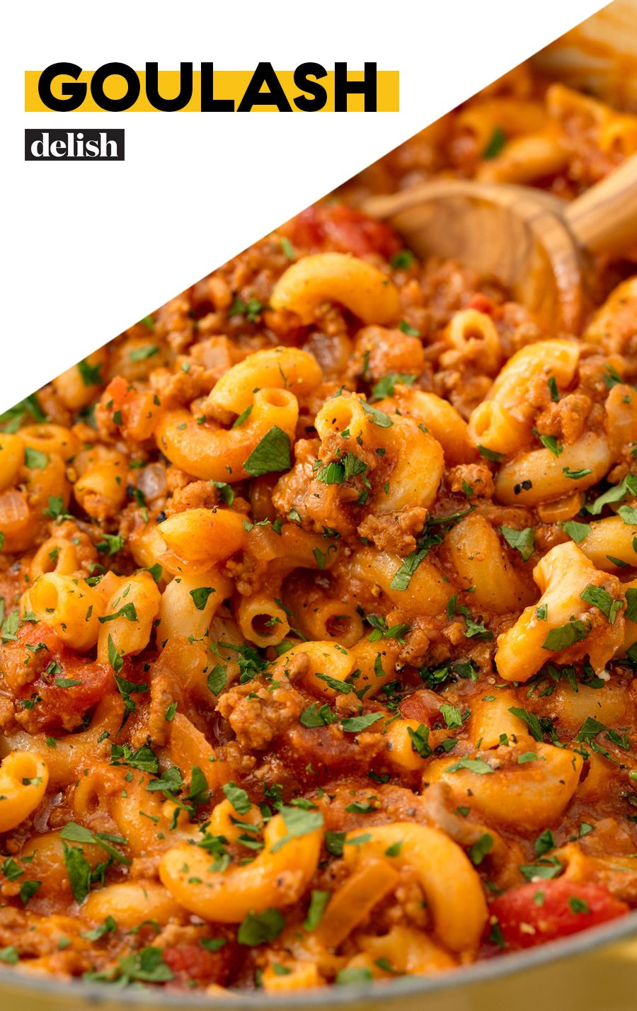 Goulash Recipe Pasta Dishes Goulash Recipes Ground Beef Recipes