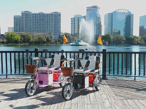 Fun in the sun with Trikaroo boomer tandem 2 seater electric