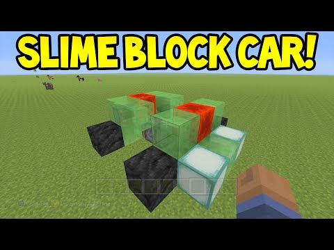 Minecraft xbox360ps3 tu31 update slime block car easy minecraft xbox360ps3 tu31 update slime block car easy tutorial youtube ccuart Image collections