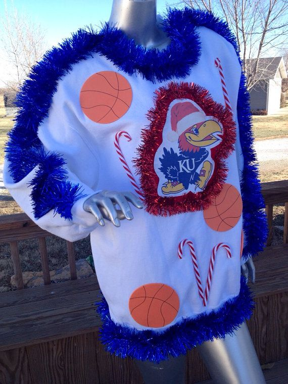 KU Ugly Christmas Sweater | {{CHRISTMAS}} | Pinterest | Ugliest ...