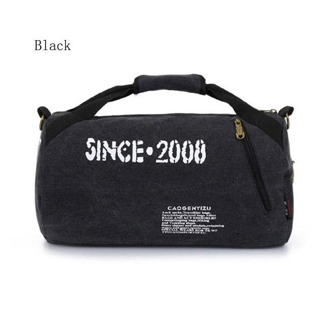 Canvas Sport Bag Training Gym Bag Men Woman Fitness Bags Durable  Multifunction Handbag Outdoor Sporting Tote 99cc1e83aa