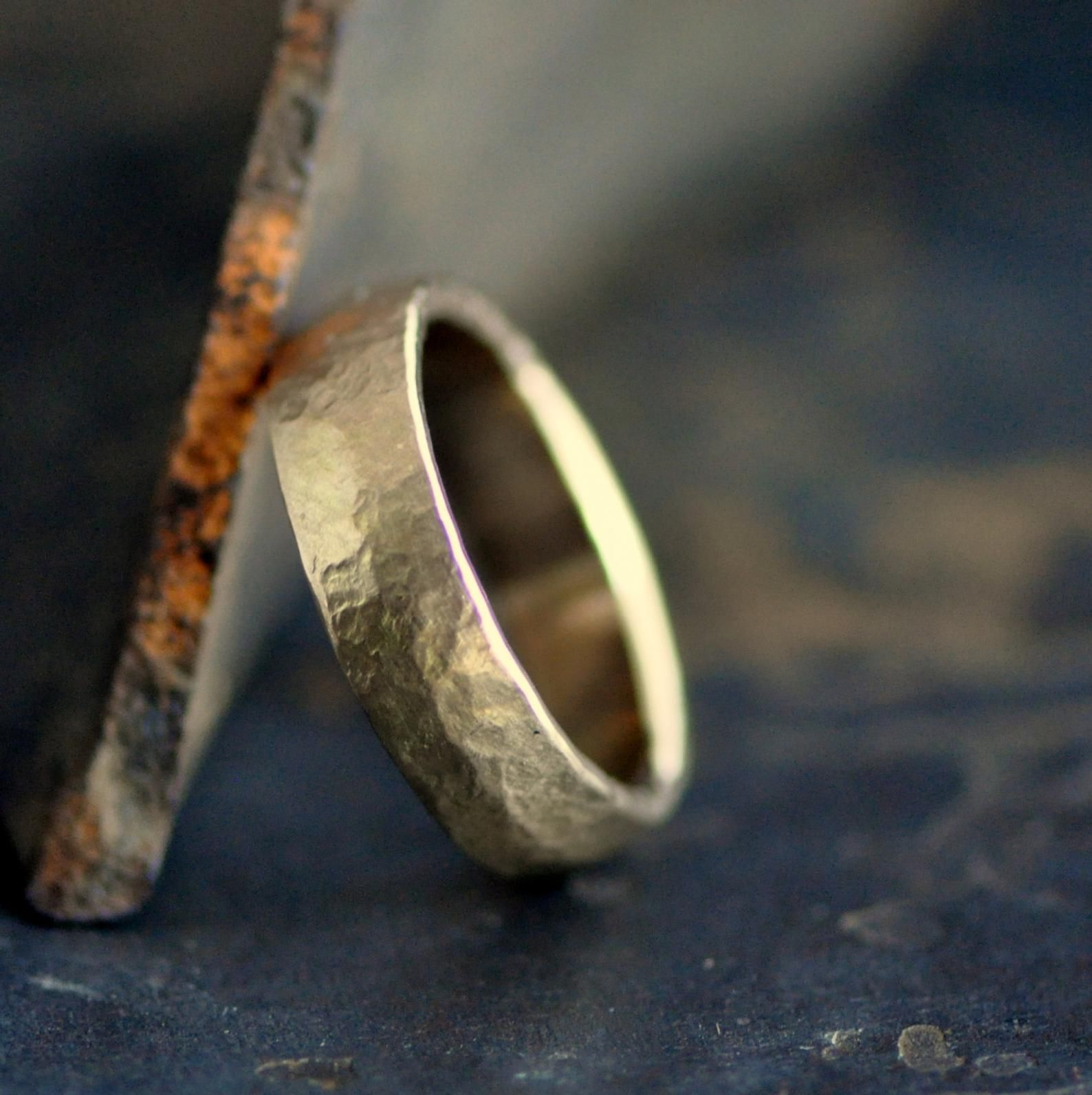 36+ Wide wedding bands white gold ideas