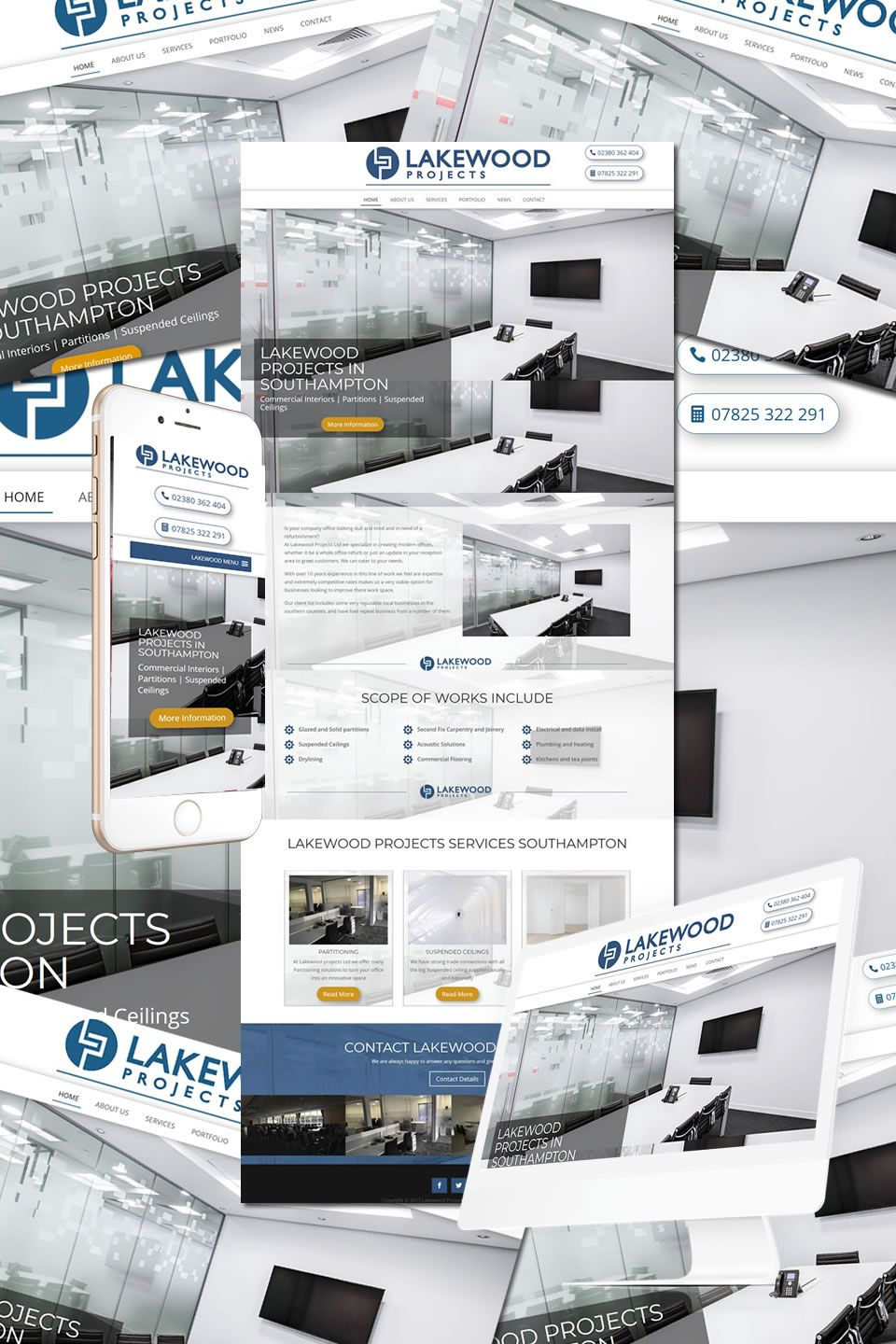 The New Website For Lakewood Projects In Southampton Https Hostcat Co Uk Project Lakewood Projects The New Website F Portfolio Web Design Lakewood Web Design