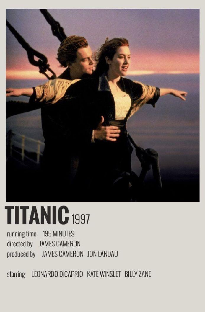 minimal movie poster 🥰