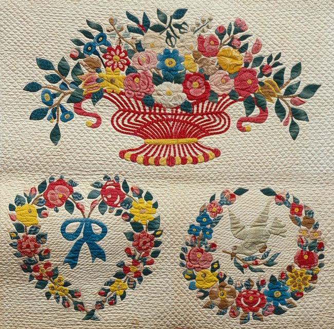 Quilt, Presentation pattern | Baltimore Album Quilts and in like ...