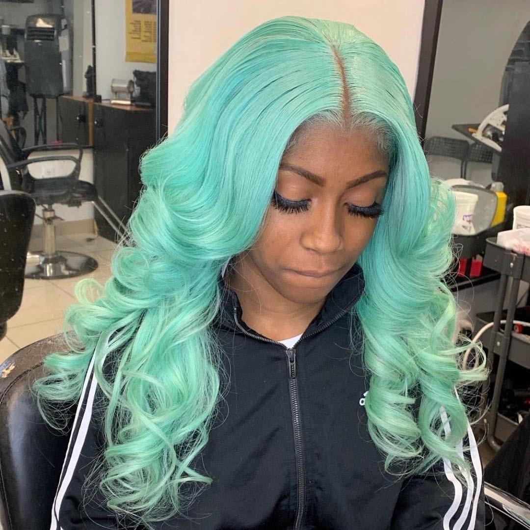 Formula Mystical Mint Mint Hair Color Green Hair Colors Mint Green Hair
