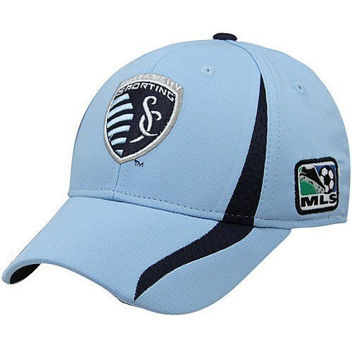 MLS Sporting Kansas City Authentic Player Hat, Blue, S/M adidas. $21.35