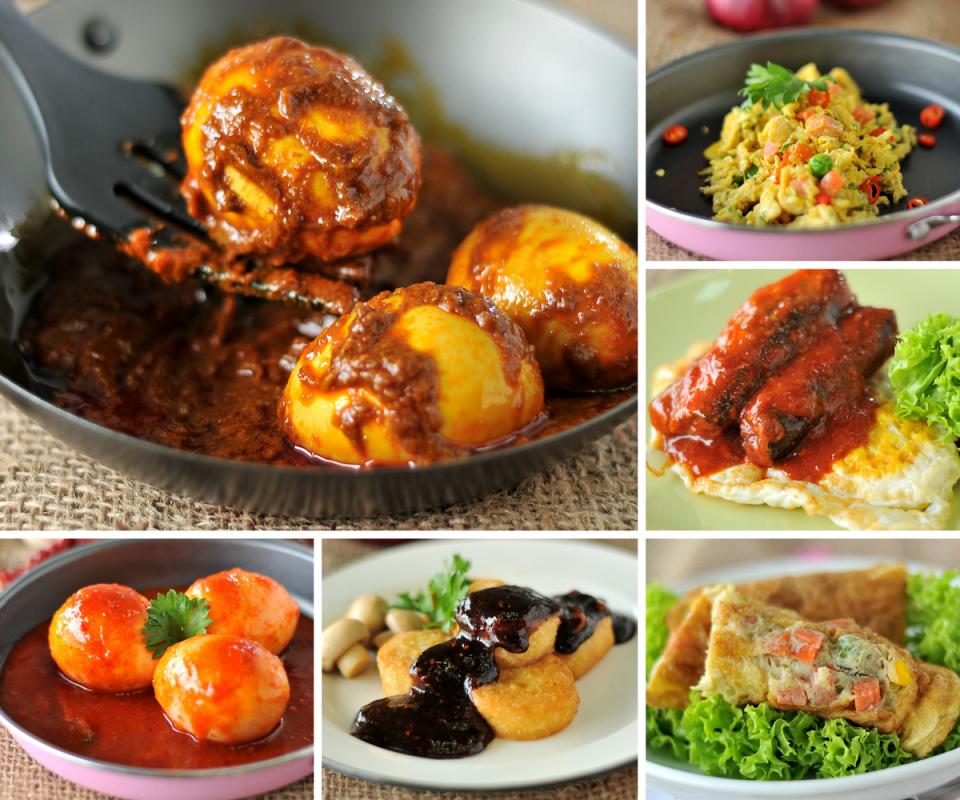 Menu Berasaskan Telur Yang Sangat Ringkas Tapi Menyelerakan Food Indonesian Food Recipes