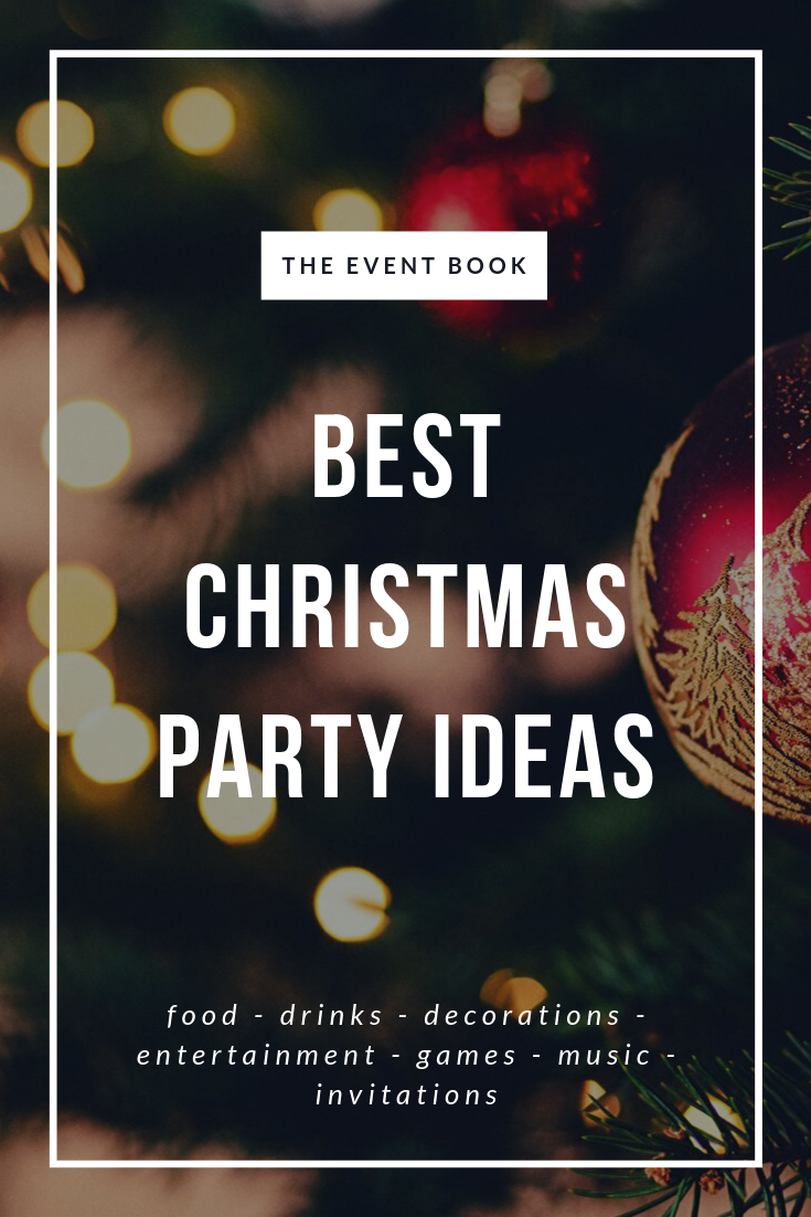 10+ Christmas Party Party Ideas! Cristmas party ideas, games, entertainment, for kids, for ...