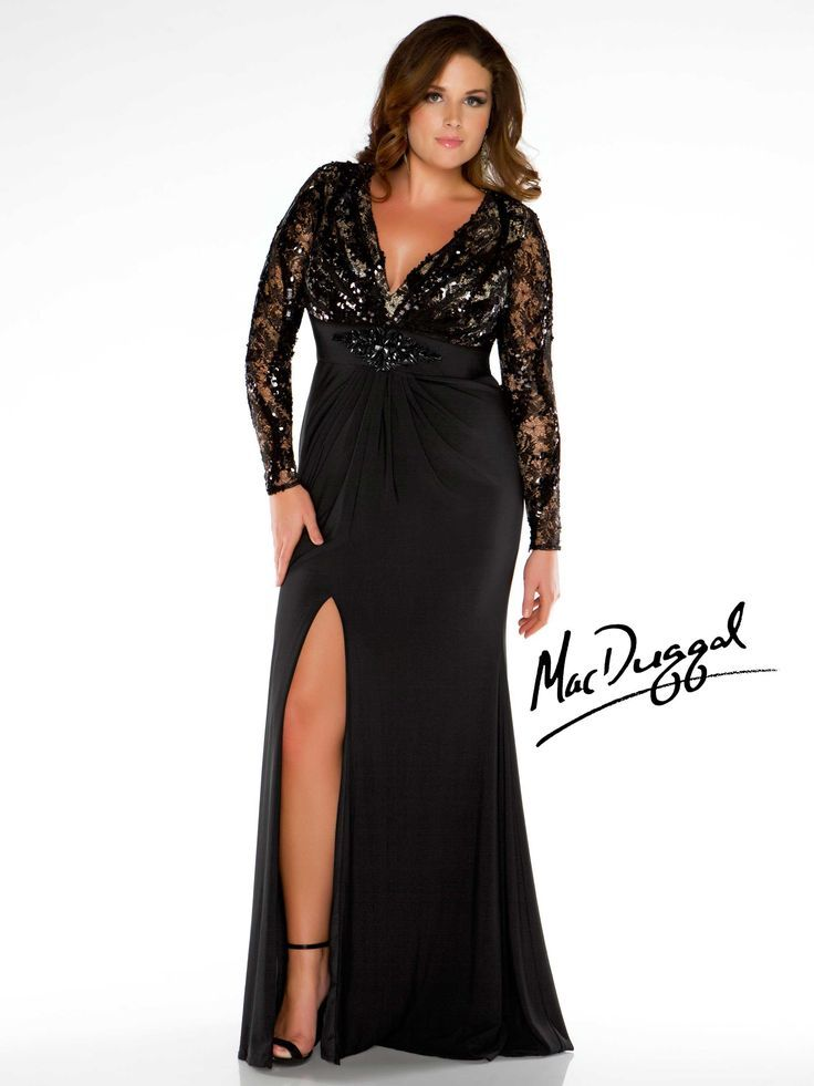 Nice Evening Dresses Plus Size Collection Plus Size Long Sleeve