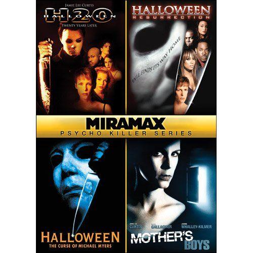 Miramax Psycho Killer Series: Halloween: H2O / Halloween ...