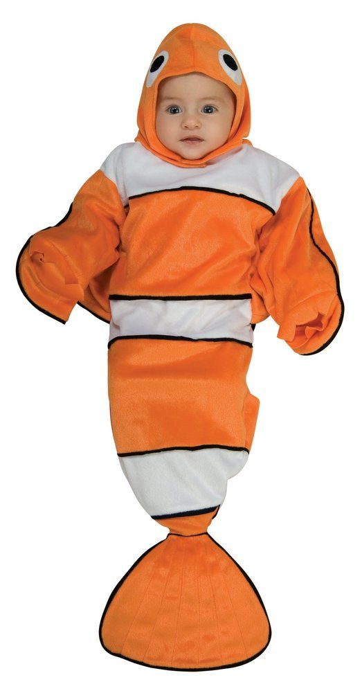 Guppy Bunting Costume Orange, Infant, Everyday, Infant Cute - halloween costume ideas for infants