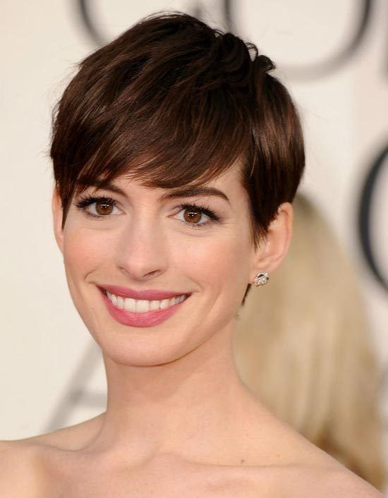 anne hathaway's hollywood pixie