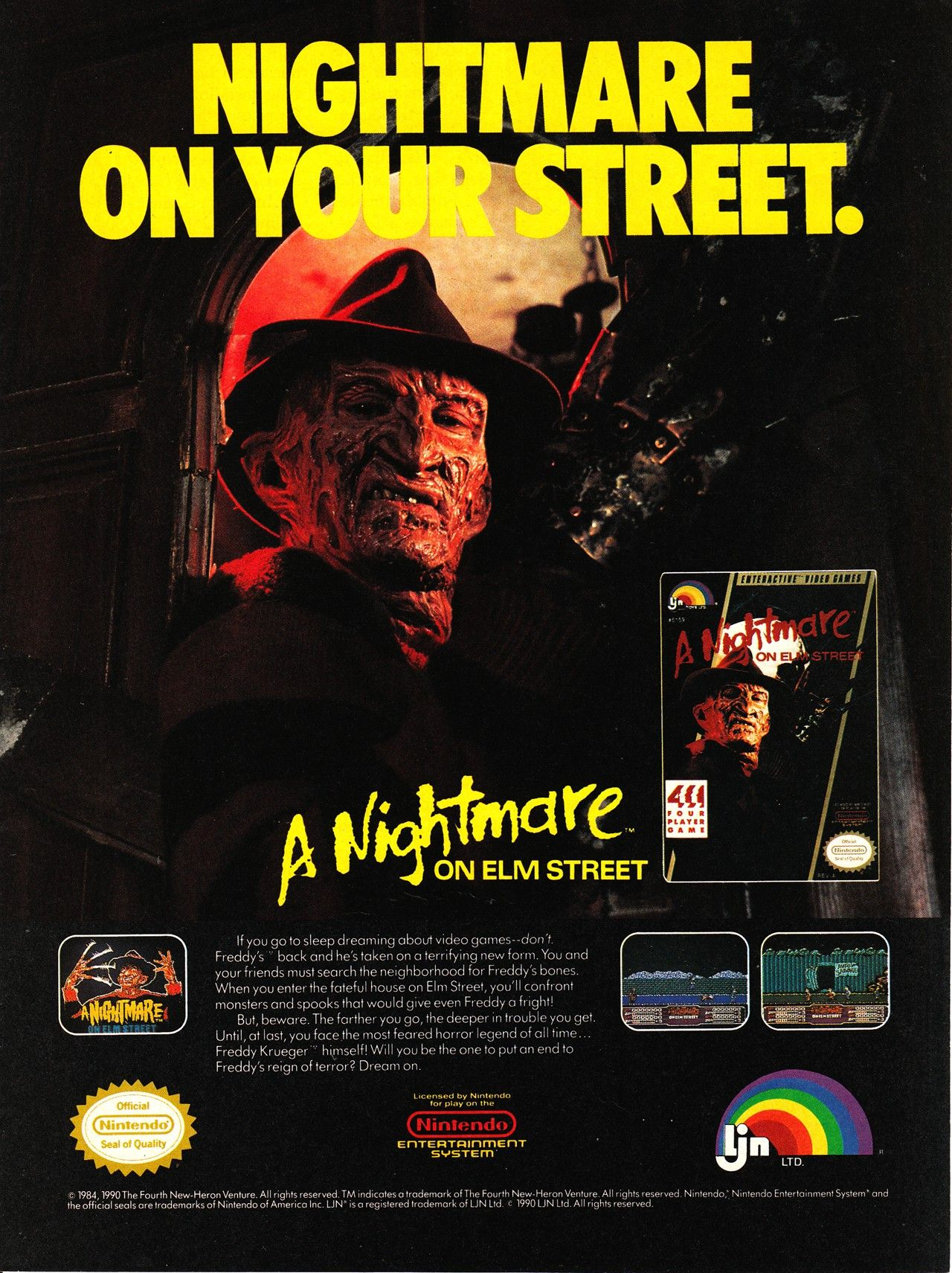A Nightmare on your own Street from those lovable... Old