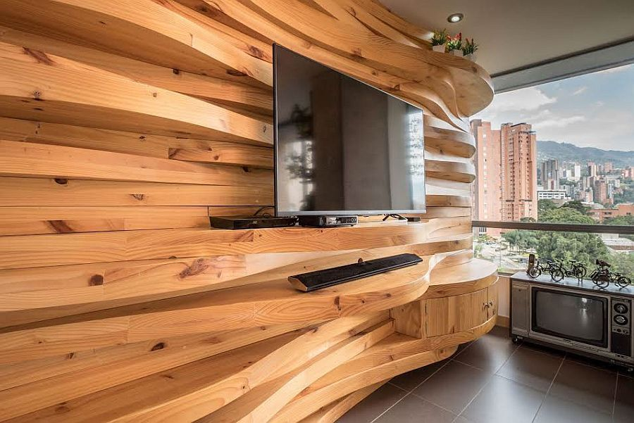 Best Wood Accent Wall Ideas To Make Any Spaces Warmth Accent Walls In Living Room Wooden Accent Wall Accent Wall Bedroom #wood #accent #wall #ideas #living #room