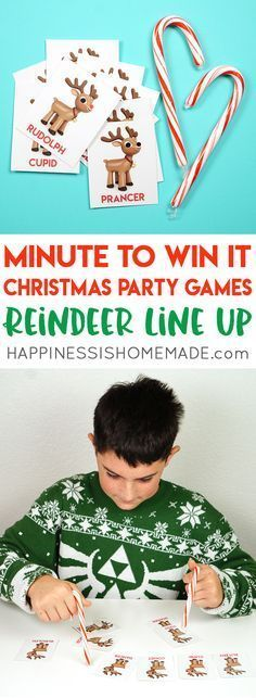 Christmas Minute to Win It Games - Host the best Christmas party