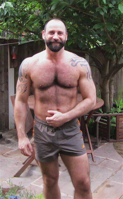 Hairy muscular daddies