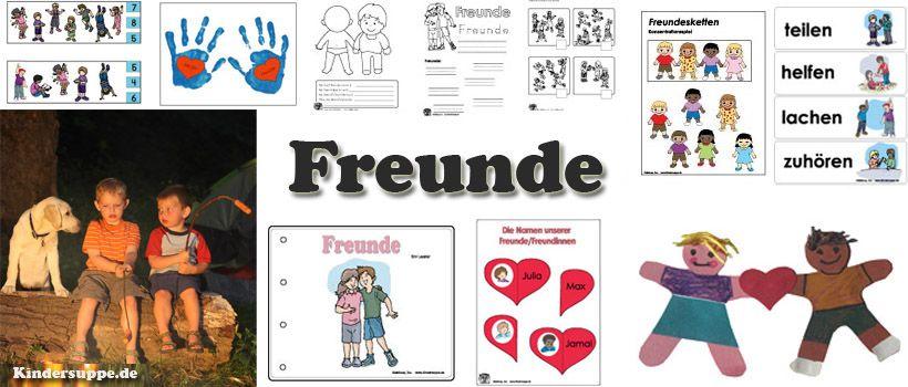 Kindergarten ideen zum projekt und thema freunde und for Herbstprojekt im kindergarten