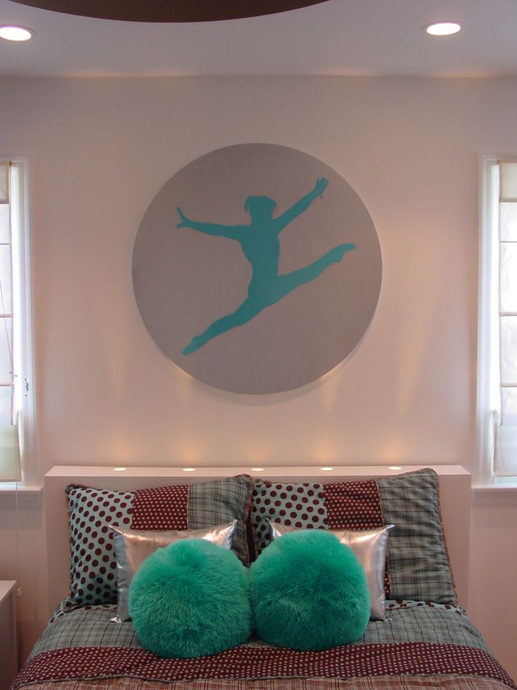 Makeover Of A Young Gymnast's Bedroom